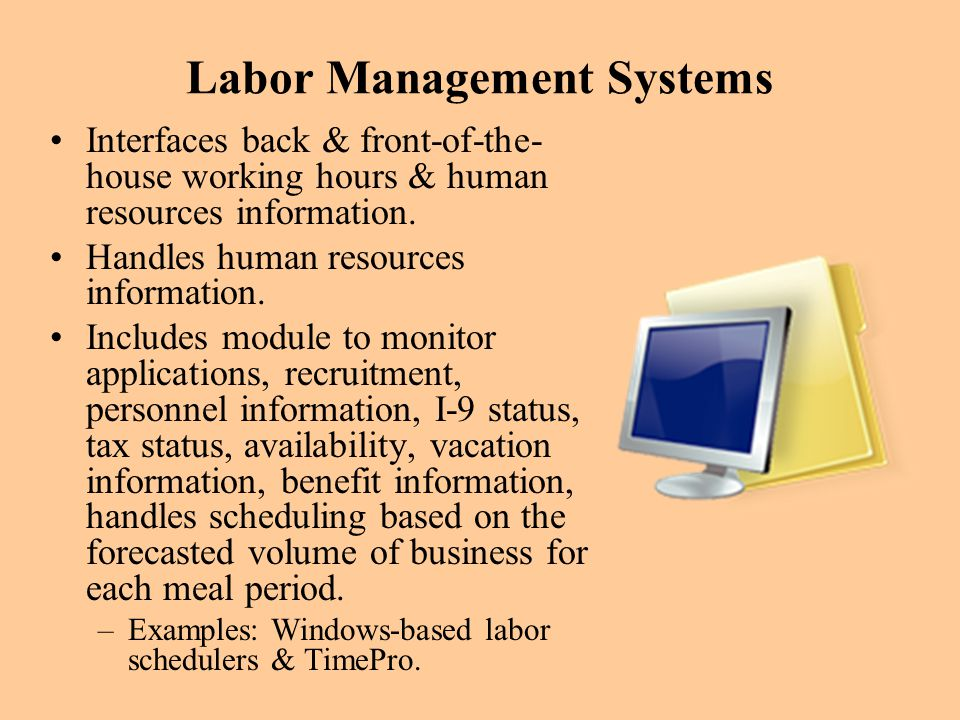 Labor Management Systems