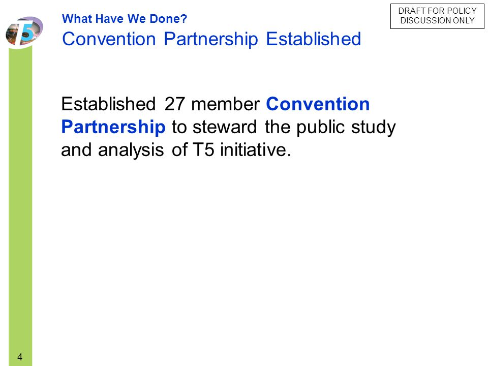 Convention Partnership Established