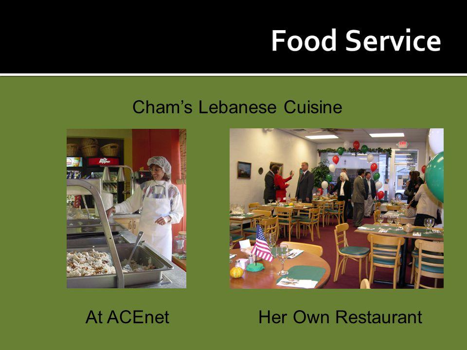 Cham's Lebanese Cuisine