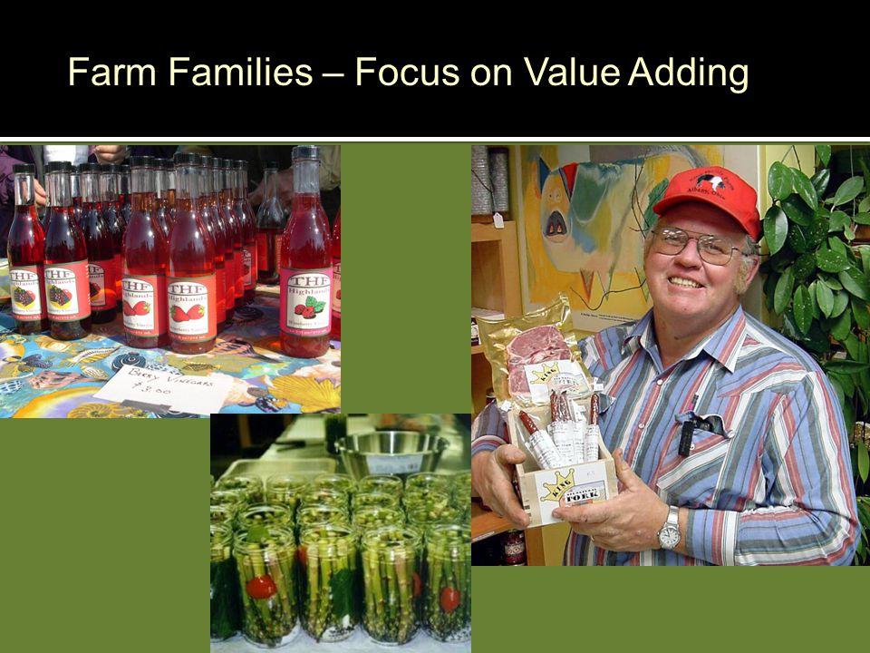 Farm Families – Focus on Value Adding