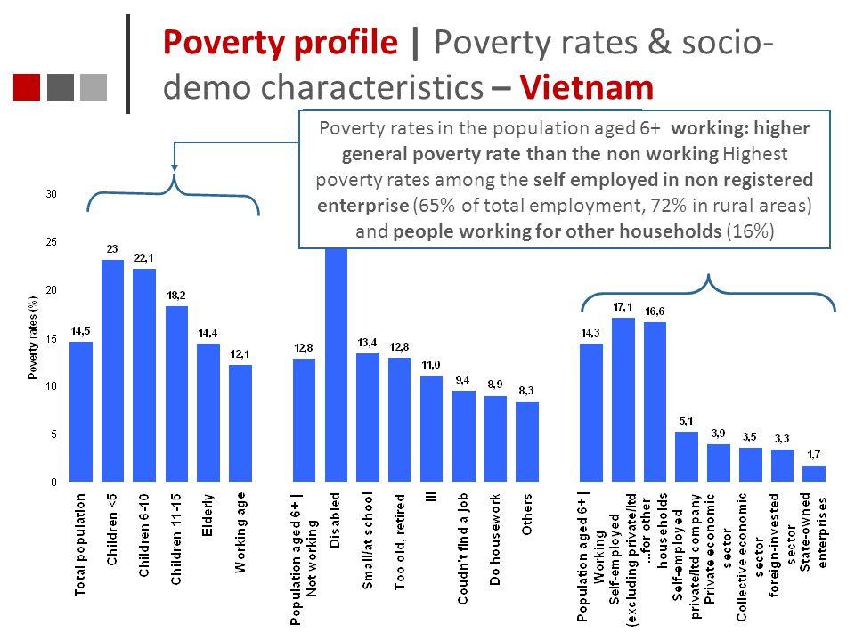 Poverty profile | Poverty rates & socio-demo characteristics – Vietnam