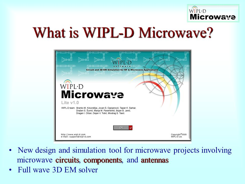 What is WIPL-D Microwave