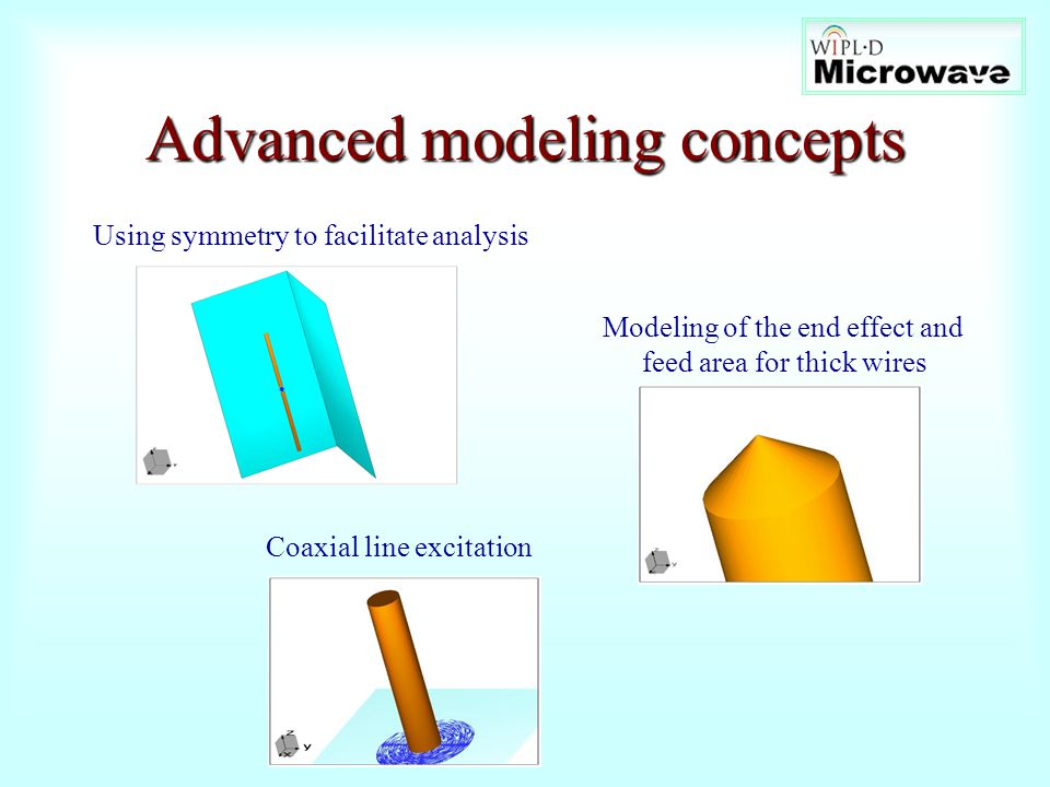 Advanced modeling concepts
