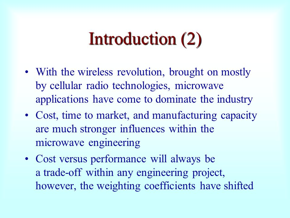 Introduction (2)