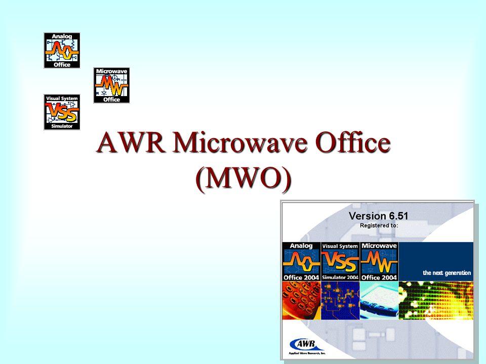 AWR Microwave Office (MWO)