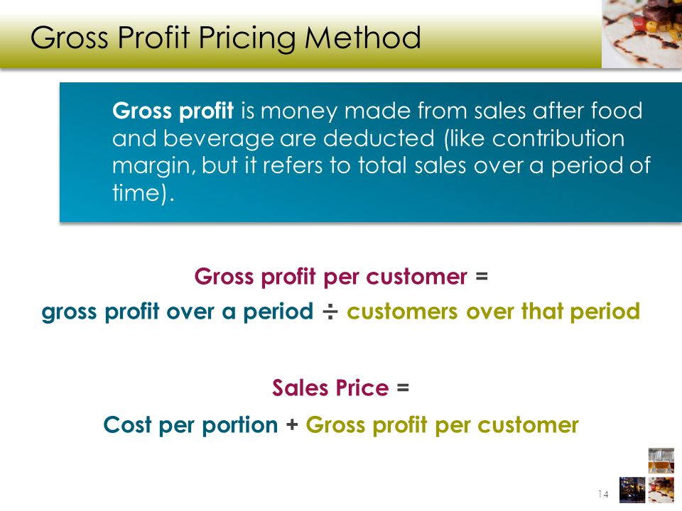 Gross Profit Pricing Method