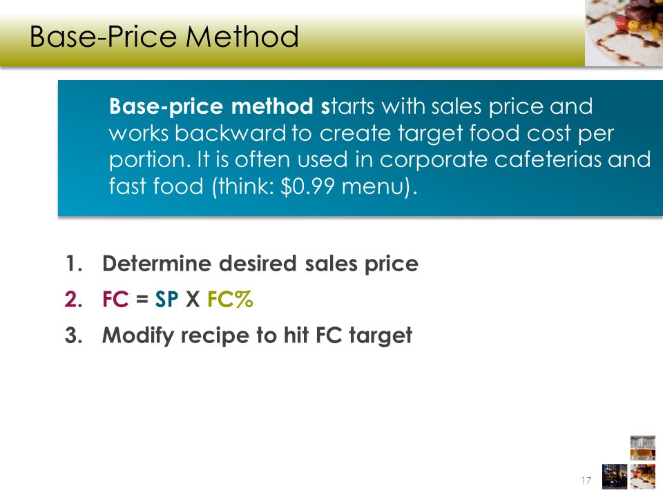 Base-Price Method