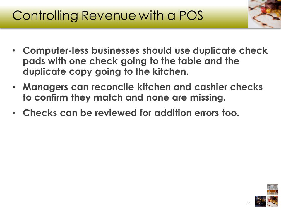 Controlling Revenue with a POS