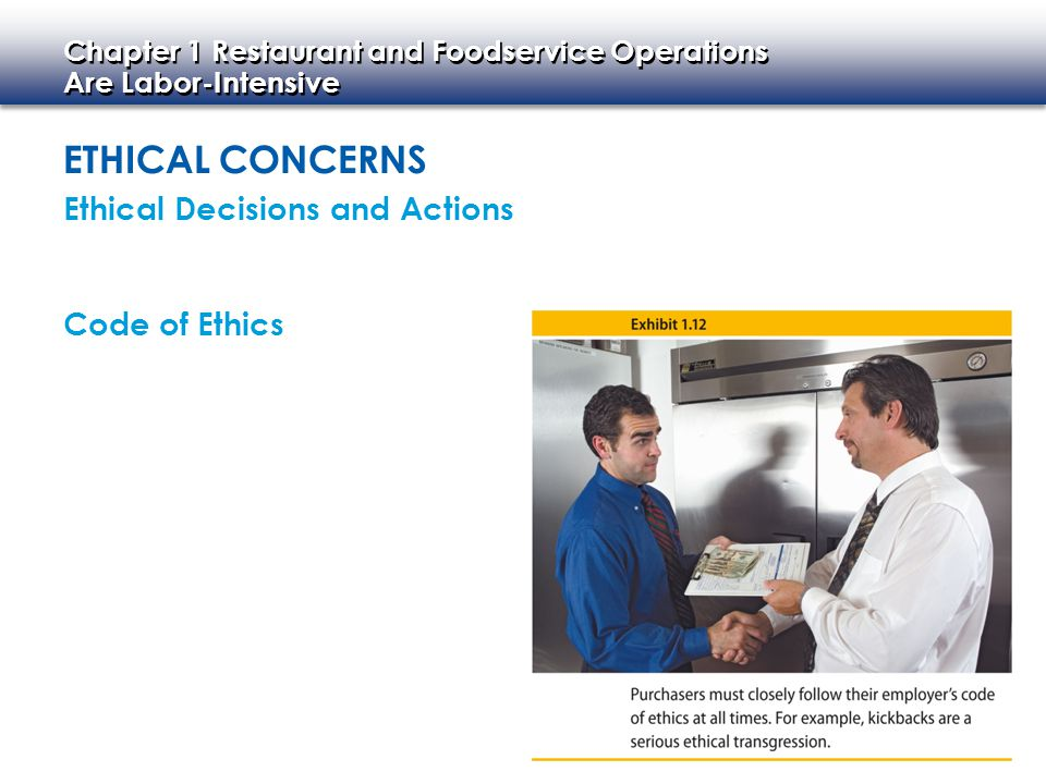 Ethical Concerns Ethical Decisions and Actions Code of Ethics