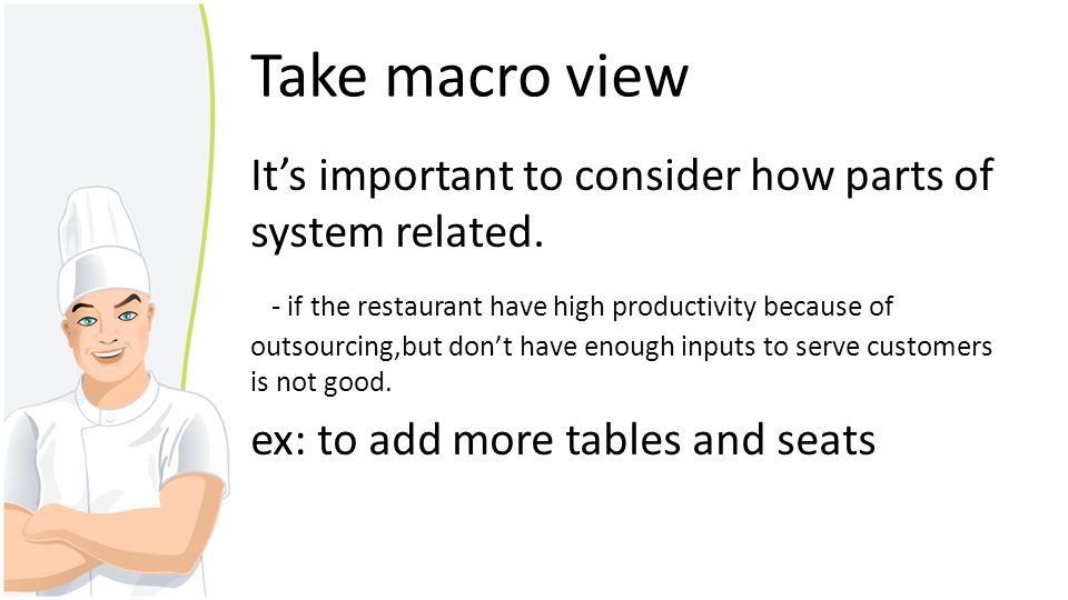 Take macro view