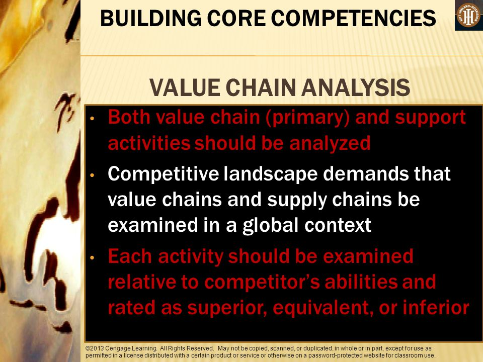 BUILDING CORE COMPETENCIES