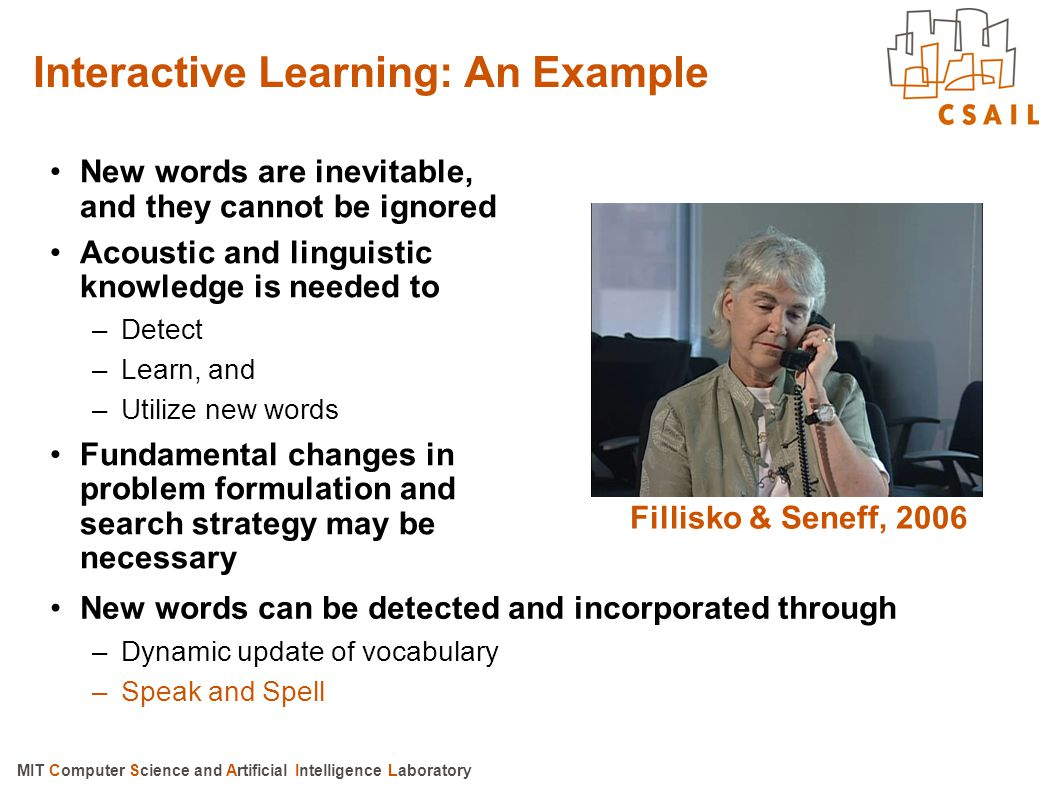 Interactive Learning: An Example