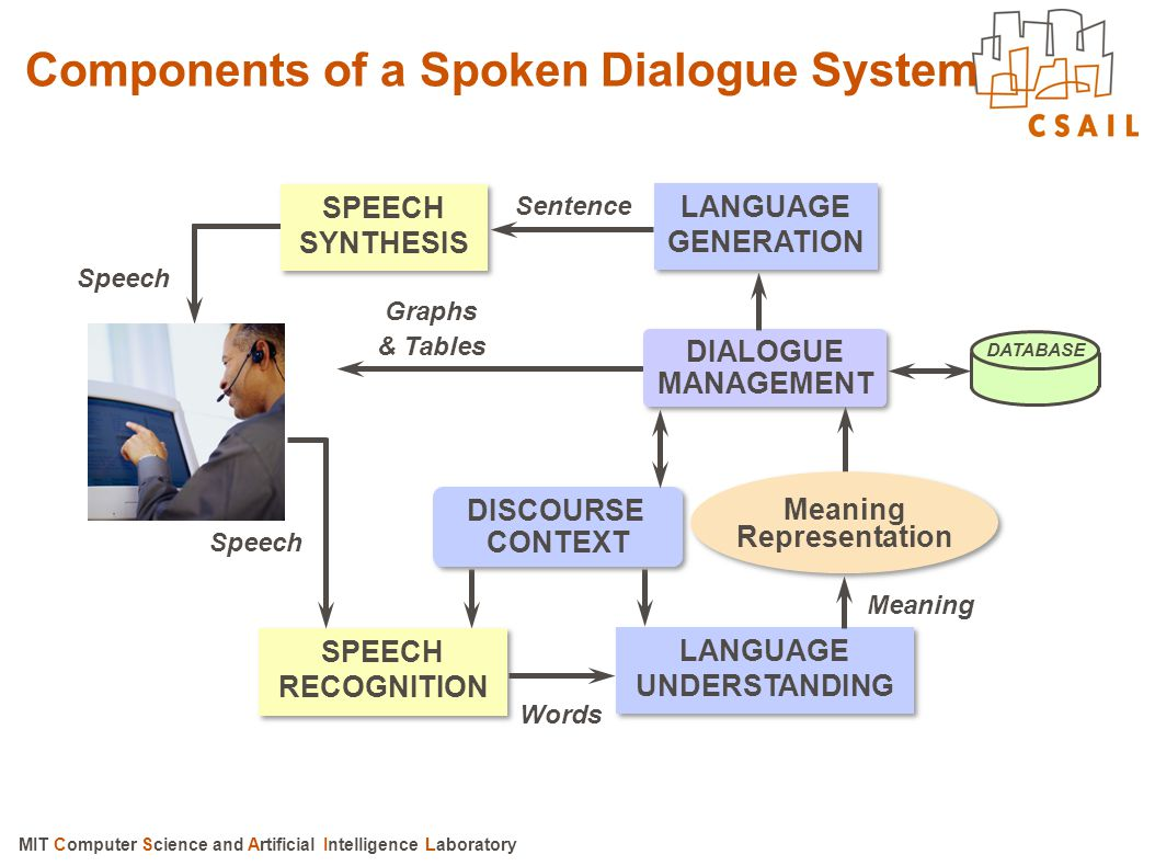 Components of a Spoken Dialogue System