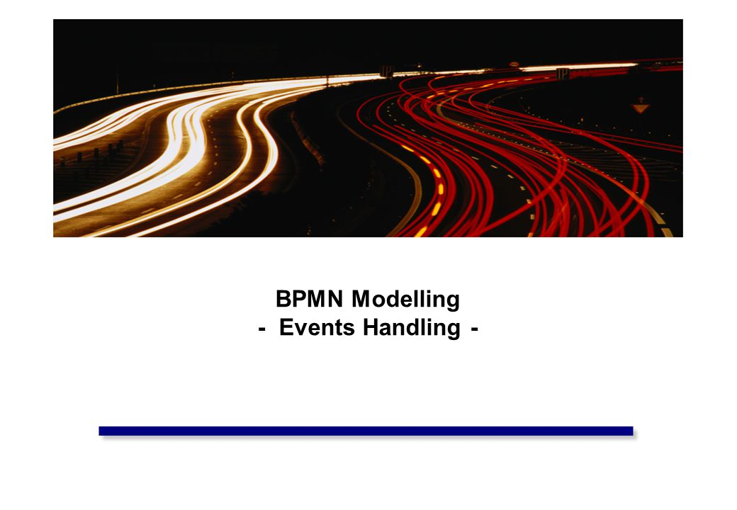 INB/INN320 – Business Process Modelling