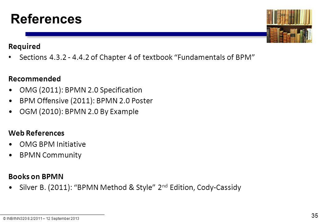 INB.INN321 – Business Process Management