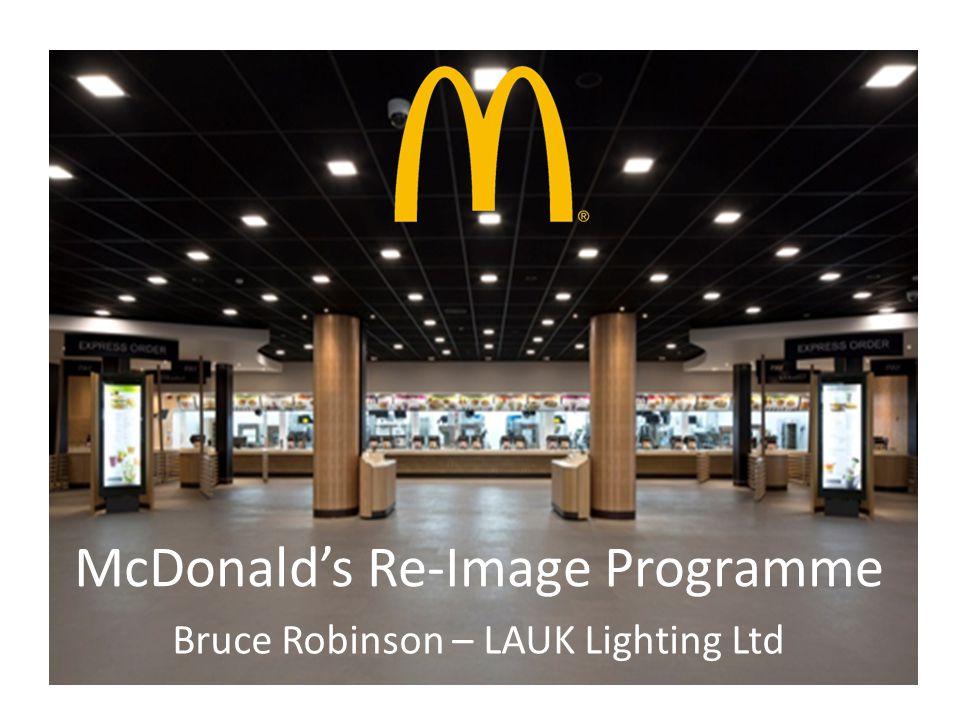 McDonald's Re-Image Programme