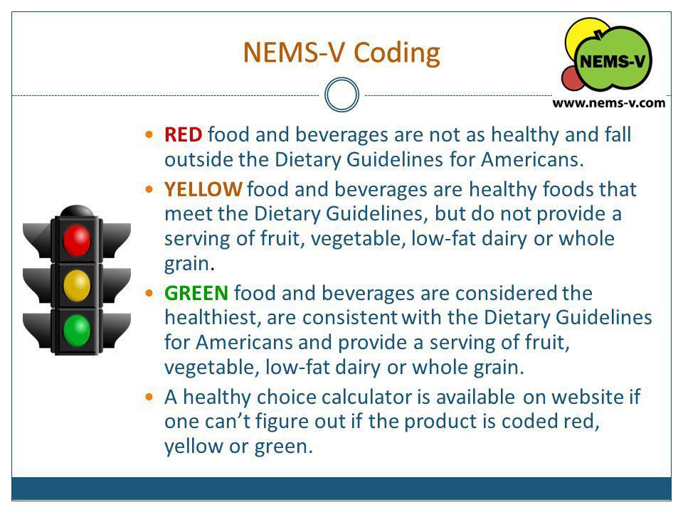 NEMS-V Coding NEMS-V Coding