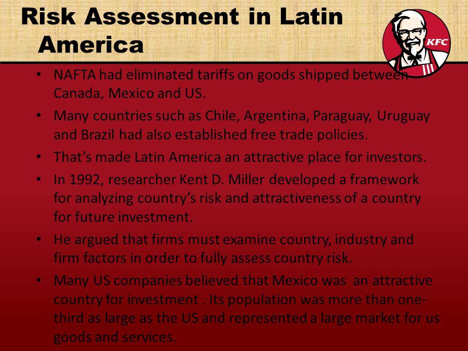 Risk Assessment in Latin America