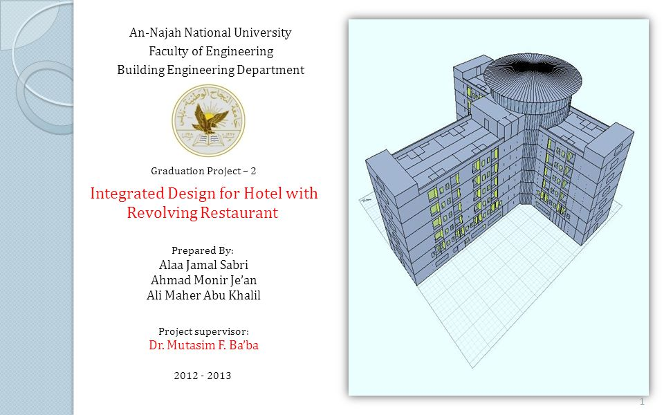 Integrated Design for Hotel with Revolving Restaurant