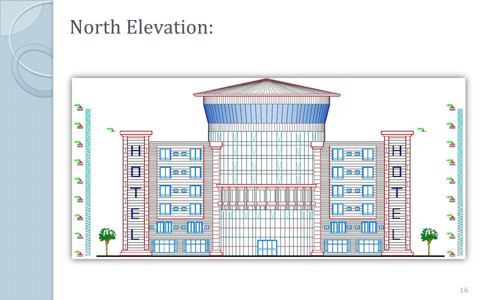 North Elevation: