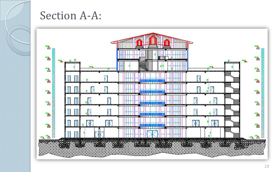 Section A-A: