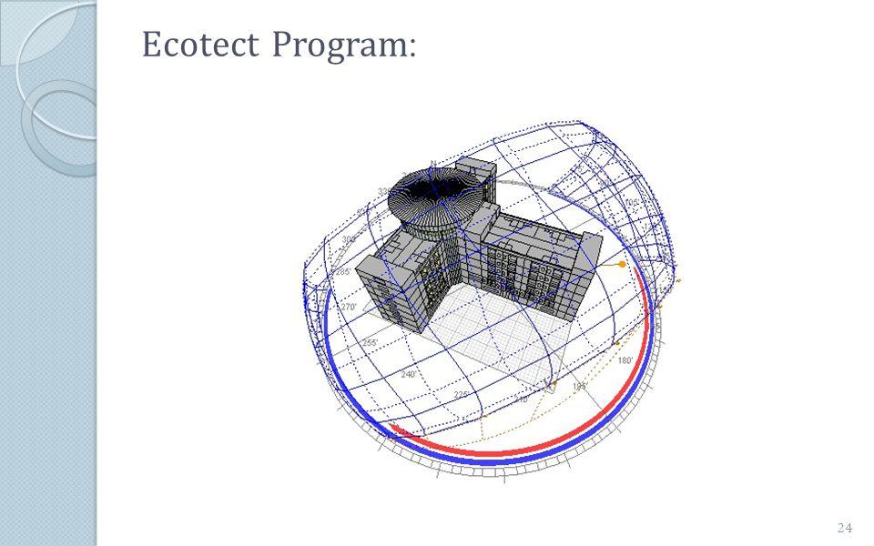 :Ecotect Program