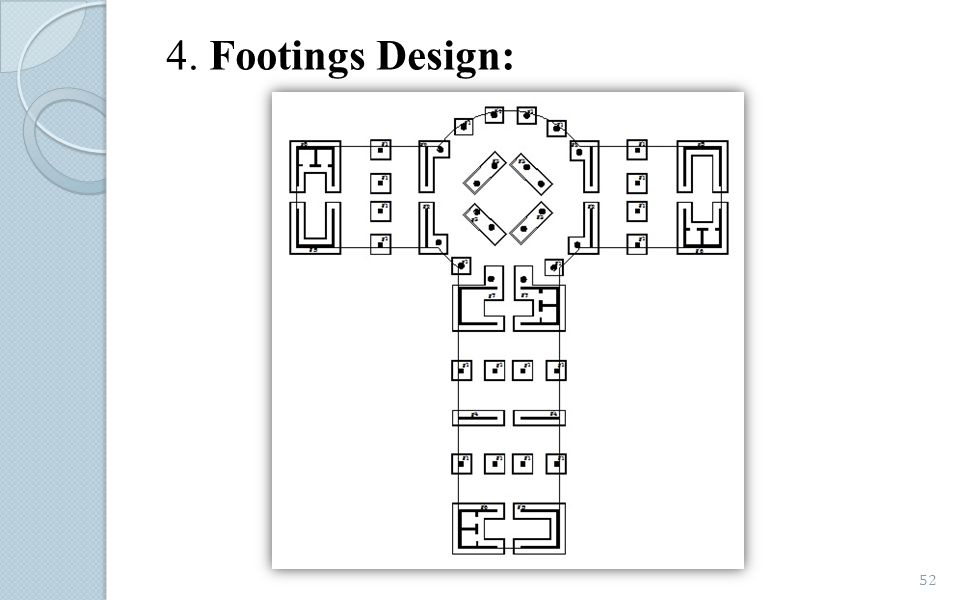 4. Footings Design: