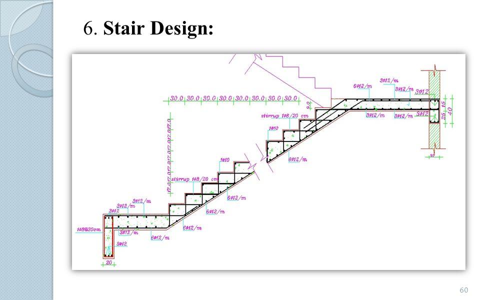 6. Stair Design: