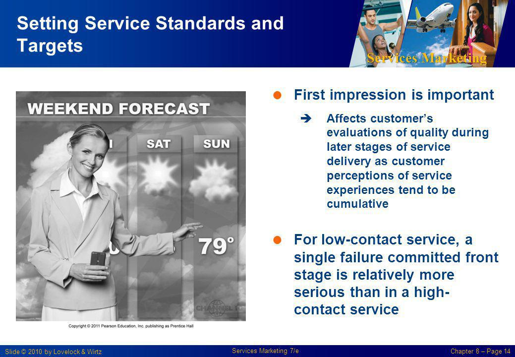 Setting Service Standards and Targets