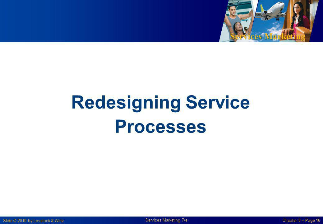 Redesigning Service Processes
