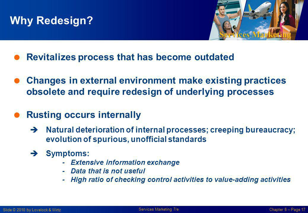 Why Redesign Revitalizes process that has become outdated
