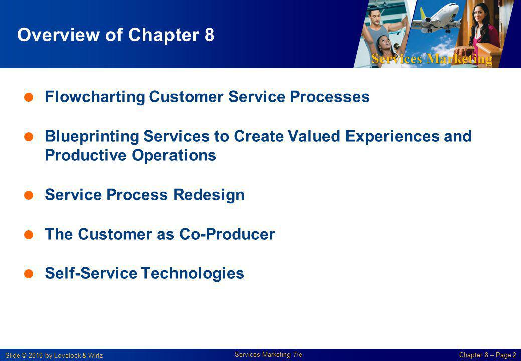 Overview of Chapter 8 Flowcharting Customer Service Processes