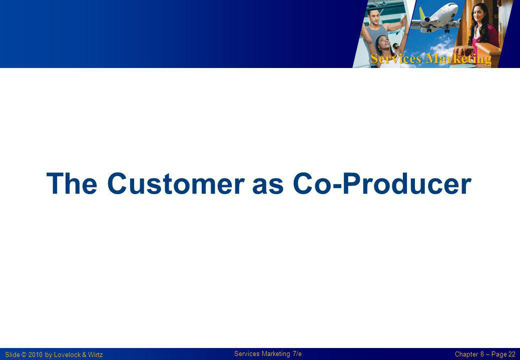 The Customer as Co-Producer