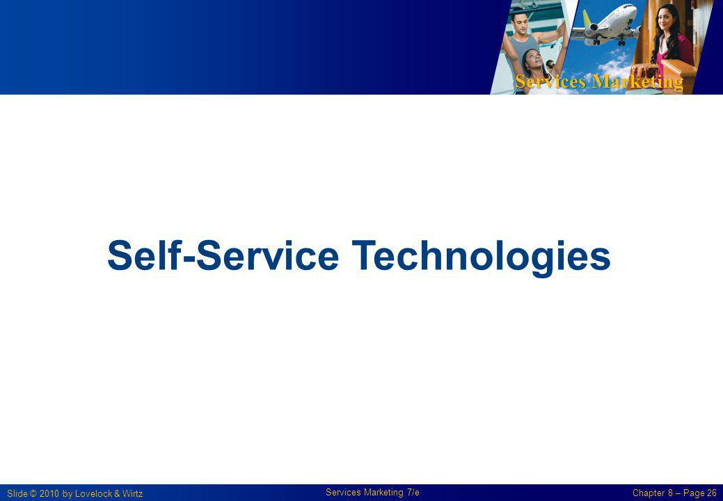 Self-Service Technologies