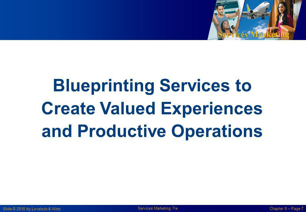 Blueprinting Services to Create Valued Experiences and Productive Operations