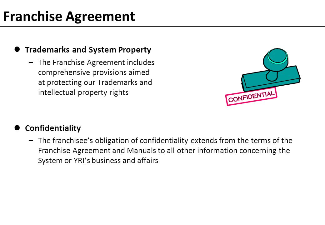 Franchising Principles and Review of Standard Agreement (IFA)