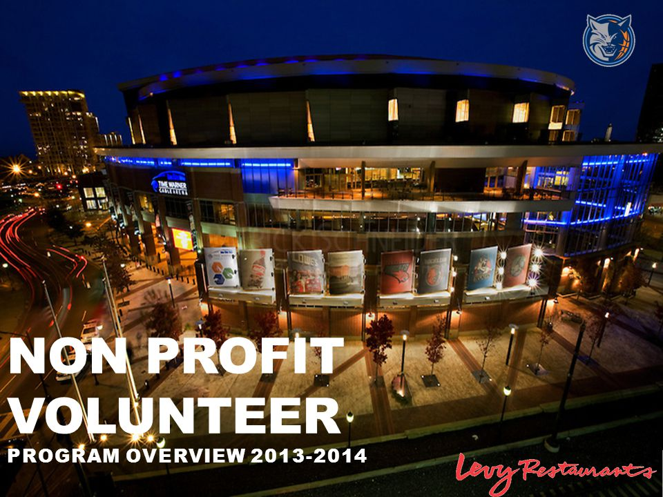 Non Profit volunteer Program overview 2013-2014