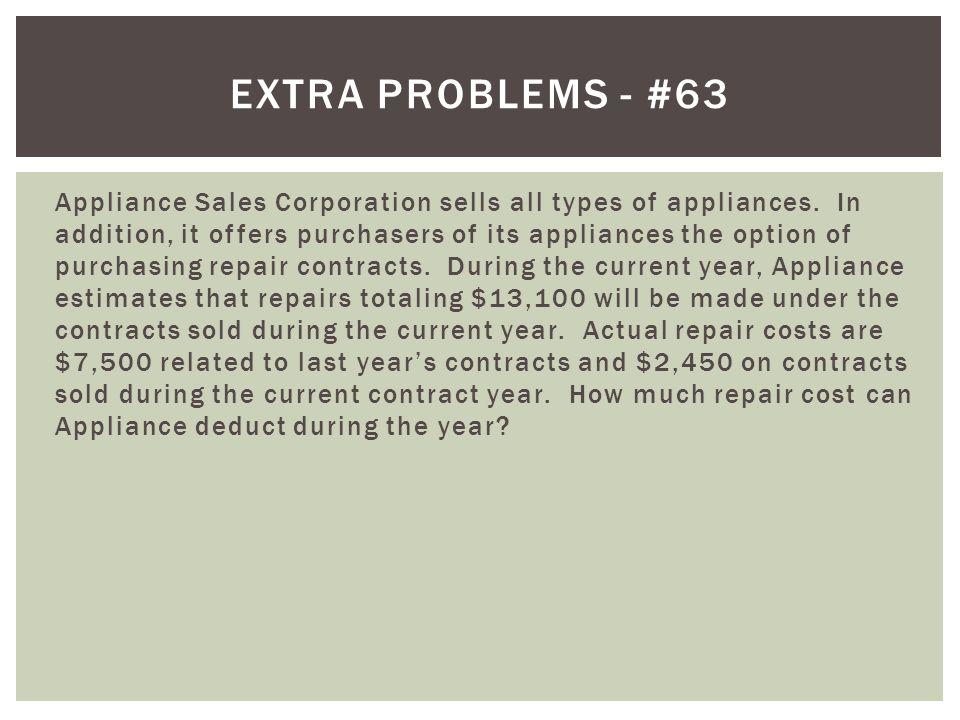 Extra problems - #63
