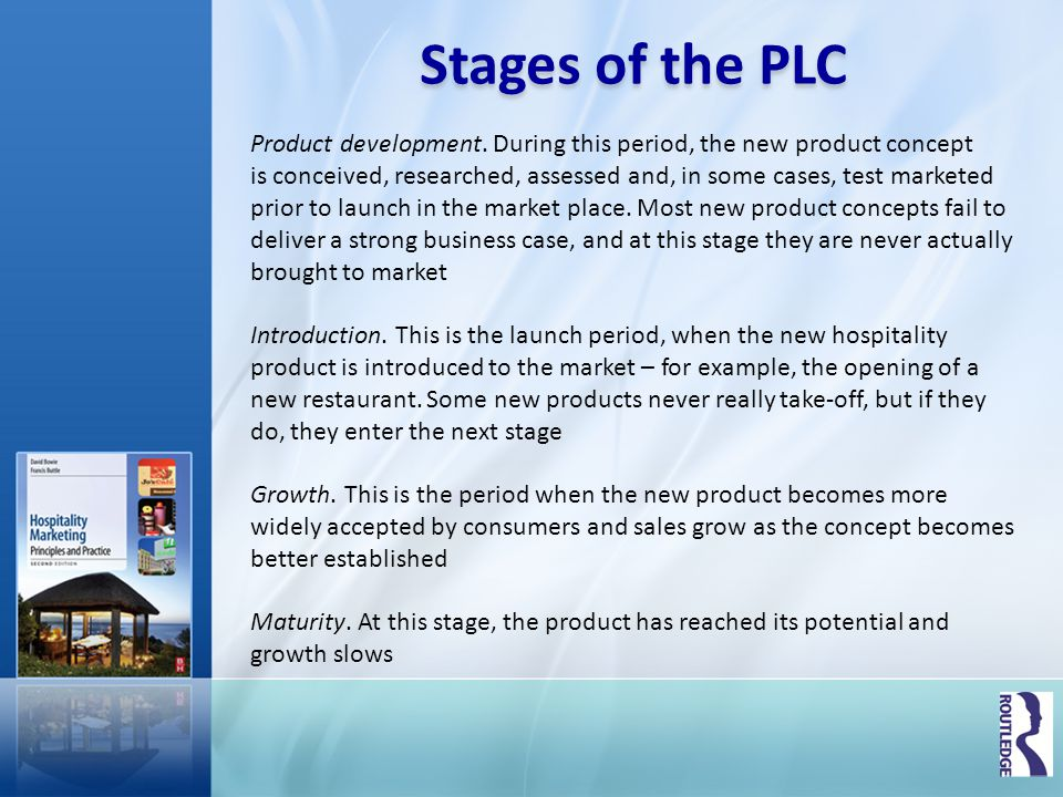 Stages of the PLC