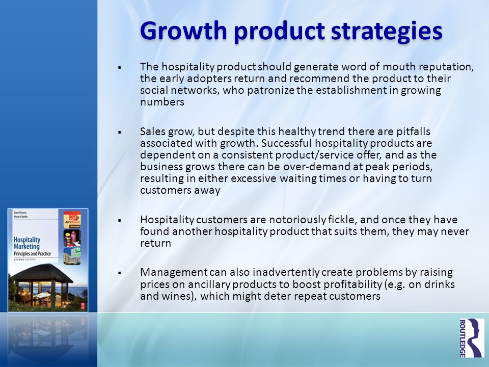 Growth product strategies