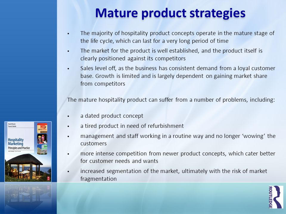 Mature product strategies