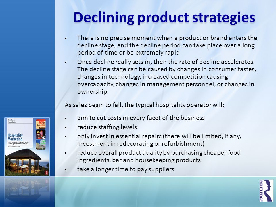 Declining product strategies