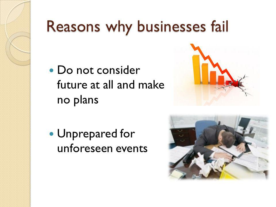 why companys business plan fail essay