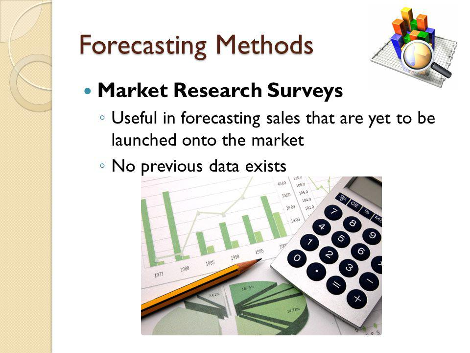 Forecasting Methods Market Research Surveys