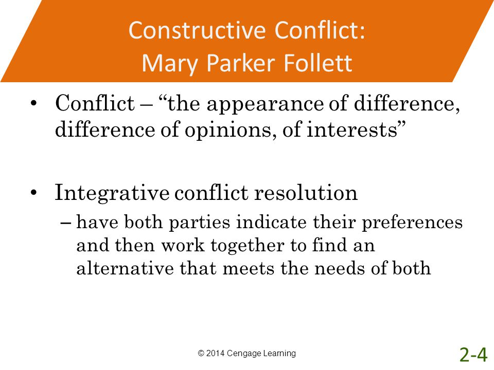 mary parker follet s concept of integration