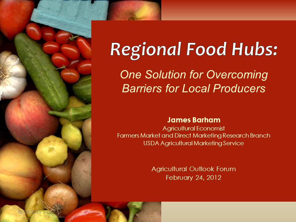 One Solution for Overcoming Barriers for Local Producers