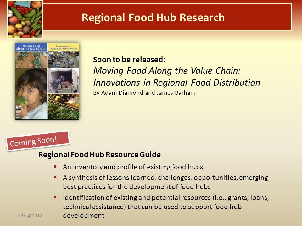 Regional Food Hub Research