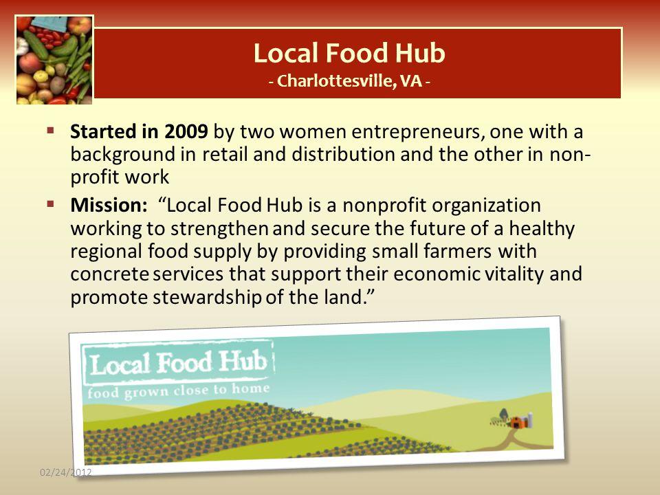 Local Food Hub - Charlottesville, VA -