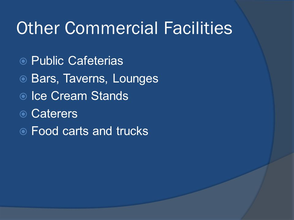 Other Commercial Facilities