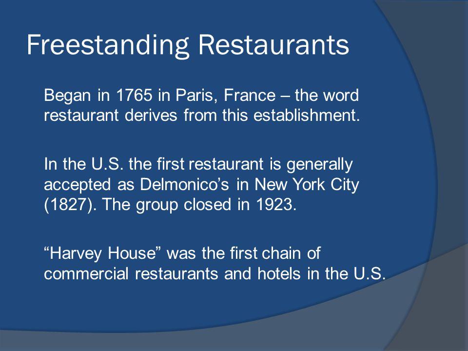 Freestanding Restaurants